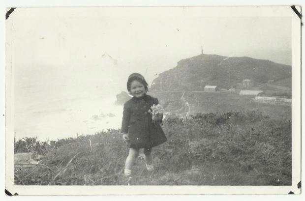 Clifftops above Pendeen Cornwall